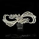 billige Festhovedtøj-Rhinsten / Legering Hair Combs med 1 Bryllup / Speciel Lejlighed / Afslappet Medaljon