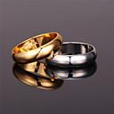 olcso Divatos gyűrű-Női Band Ring Gyűrű - Platina bevonat, Arannyal bevont, Ötvözet Vintage, Party, Munkahelyi Arany / Ezüst Kompatibilitás Parti Évforduló Születésnap