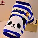 preiswerte Hundekleidung-Katze Hund Pullover Hundekleidung Cartoon Design Rot Blau Polar-Fleece Kostüm Für Haustiere Herrn Damen Niedlich Lässig/Alltäglich
