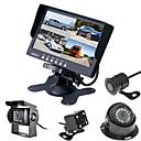 cheap Car Rear View Camera-RenEPai® 7 Inch 4 in1 HD Monitor +  BUS 170°HD Car Rear View Camera Waterproof Camera Cable length 6M, 10M, 16M, 20M,