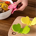 זול מכשירים למטבח-קליפ מטבח גאדג'ט פרפר סיליקון בידוד / אנטי-חם קליפ / כפפת תנור סיליקון (צבע אקראי)