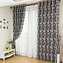 cheap Luxury Curtains-Blackout Curtains Drapes Bedroom Polyester Jacquard