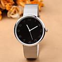 baratos Relógios da Moda-Mulheres Relógio de Pulso Aço Inoxidável Banda Fashion / Minimalista Prata / Um ano / SSUO 377