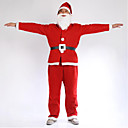 povoljno Kigurumi plišane pidžame-Kostimi - Kaput / Pojas / Šešir / Naušnica - za Božić