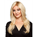 cheap Synthetic Capless Wigs-Synthetic Wig Wavy Blonde Synthetic Hair Blonde Wig Women's Medium Length Capless Blonde