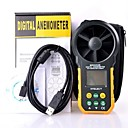 cheap Other Housing Organization-HYELEC MS6252B digital anemometer Professional air speed velocity air flow meter with air temperature air humidity RH USB port