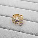 cheap Earrings-Women's Band Ring - Pearl, Rhinestone, Imitation Diamond Fashion 7 / 8 / 9 For Wedding Party Daily