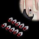 abordables Purpurina para Manicura-Calcomanías de Uñas 3D arte de uñas Manicura pedicura Metal Clásico / Punk Diario