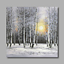 cheap Framed Arts-Oil Painting Hand Painted - Landscape Modern Stretched Canvas