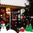 abordables Textiles para el Hogar Navideño-Art Decó Moderno Adhesivo para Ventana, PVC/Vinilo Material decoración de la ventana Comedor Dormitorio Oficina Sala de niños Salón Shop