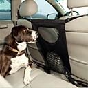 abordables Básicos de Viaje para Perros-Perro Cobertor de Asiento Para Coche Mascotas Portadores Plegable Un Color Negro