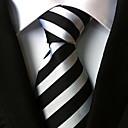 זול חבלים & קרבינים ,קמפינג כלים-עניבת צווארון - פסים פוליאסטר מסיבה / עבודה / בסיסי בגדי ריקוד נשים / חמוד / צבעוני