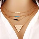 preiswerte Modische Halsketten-Mehrere Lagen (Messing Vintage / Freizeit