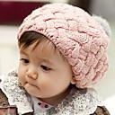 cheap Kids' Hats & Caps-Kid's Lovely Ball Knit Beret Cap