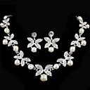 cheap Party Headpieces-Women's Rhinestone Jewelry Set - Others Silver