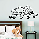 cheap Wall Stickers-Animals Wall Stickers Animal Wall Stickers Decorative Wall Stickers, Manganese steel Vinyl Home Decoration Wall Decal Wall