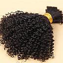 preiswerte Platzkarten & Kartenhalter-3 Bündel Brasilianisches Haar Locken / Klassisch / Kinky Curly Unbehandeltes Haar Menschenhaar spinnt Menschliches Haar Webarten Haarverlängerungen / Kinky-Curly