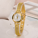 cheap LED Candle Lights-Women's Fashion Watch Japanese Casual Watch Alloy Band Elegant Gold