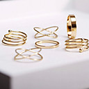 cheap Rings-Women's Stackable Jewelry Set / Rings Set - Alloy Adjustable Golden For Party / Daily / Casual