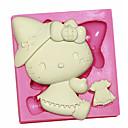 お買い得  携帯電話ケース & スクリーンプロテクター-ベークツール プラスチック DIY ケーキ ケーキ型 1個