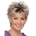 cheap Human Hair Wigs-2016 new curly short women wigs synthetic hair wig blonde with dark roots ombre hair wig