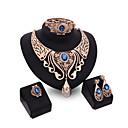 abordables Juego de Joyas-Mujer Cristal Conjunto de joyas - Incluir Rojo / Azul / Champaña Para Boda / Fiesta / Anillos / Collare