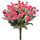 levne Samolepky na zeď-Umělé květiny 1 Větev Pastýřský Styl Lila Květina na stůl