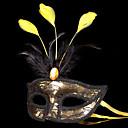 preiswerte Masken-Karnival Maske Maskerade Herrn Damen Halloween Karneval Fest / Feiertage Halloween Kostüme Austattungen Rosa / Purpur / Golden + schwarz Patchwork