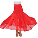 cheap Latin Dance Wear-Ballroom Dance Tutus & Skirts Women's Performance Crepe Draping Skirt / Modern Dance