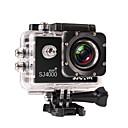 billige Actionkamera til sport-SJCAM SJ4000 WIFI Action Kamera / Sportskamera 8 mp / 5 mp / 3 mp 1920 x 1080 Pixel Vandtæt / Wifi 4X ± 2 EV 1.5 inch CMOS 32 GB H.264 Engelsk / Fransk / Tysk 30 m