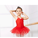 cheap Ballet Shoes-Kids' Dancewear / Ballet Leotards Training Spandex Sleeveless