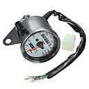 cheap Motorcycle & ATV Parts-Iztoss Motorcycle Dual Odometer Speedometer Gauge LED Backlight Signal Light