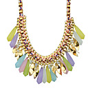 cheap Necklaces-Women's Statement Necklace - Bohemian, Fashion, Boho Blue, Pink, Rainbow Necklace For Party, Daily, Casual