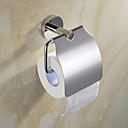 hesapli Moda Küpeler-Tuvalet Kağıdı Tutacağı Çağdaş Paslanmaz Çelik 1 parça - Otel banyo