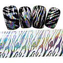 halpa Foil Paper-1 pcs Kynsilakkausnauha kynsitaide Manikyyri Pedikyyri Lovely Cartoon / Kalvojen irrotusnauha