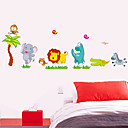 billige Veggklistremerker-Dekorative Mur Klistermærker - 3D Mur Klistremerker Dyr Mennesker Still Life Romantik Mote Former Vintage Højtid Tegneserie fritid fantasi