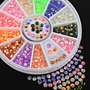 cheap Rhinestone & Decorations-Lovely nail art Manicure Pedicure Acrylic Abstract / Classic / Cartoon Daily / Nail Jewelry