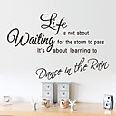 cheap Wall Stickers-Landscape Romance Fashion Shapes Cartoon Words & Quotes Holiday Fantasy Wall Stickers Plane Wall Stickers Decorative Wall Stickers, PVC