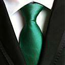 baratos Acessórios Masculinos-Homens Luxo Sólido Clássico Festa Casamento Gravata - Fashion Criativo