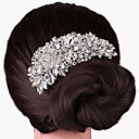 cheap Wedding Wraps-Alloy Hair Combs with 1 Wedding / Special Occasion Headpiece