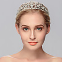 cheap Party Headpieces-Rhinestone Tiaras 1 Wedding / Special Occasion / Casual Headpiece