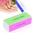 abordables Limas y Separadores de Uñas-Bloque de Limar arte de uñas Manicura pedicura Esmeril / El plastico Clásico Diario