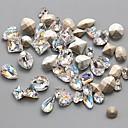 hesapli Tırnak Takısı-10 Nail Jewelry Soyut Klasik Düğün Günlük Soyut Klasik Düğün Yüksek kalite