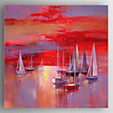 cheap Famous Paintings-Oil Painting Hand Painted - Landscape Modern Canvas