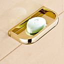 cheap Soap Dishes-Soap Dishes & Holders Contemporary Brass 1 pc - Hotel bath