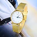 זול שעוני צמיד-בגדי ריקוד נשים קווארץ שעון יד מכירה חמה סגסוגת להקה קסם אופנתי כסף זהב