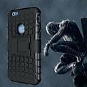 baratos Fechaduras Inteligentes-Capinha Para Apple iPhone 6 iPhone 6 Plus Antichoque Com Suporte Capa traseira Armadura Macia PC para iPhone 6s Plus iPhone 6s iPhone 6