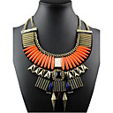 cheap Necklaces-Women's Statement Necklace - Statement, Vintage, European Orange, Royal Blue Necklace For Special Occasion, Birthday, Gift