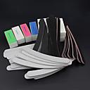 cheap Nail Practice & Display-52pcs set sanding files buffer block nail art salon manicure pedicure tools uv gel set kits