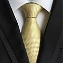 baratos Acessórios Masculinos-Homens Luxo Quadriculado Sólido Fashion Criativo